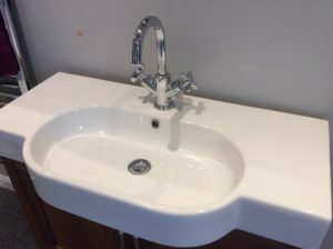 Discounted basin and tap