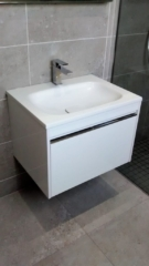 wall mounted, wet floor, shower, storage, drawers