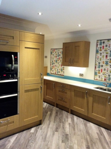 Silestone, fitted kitchen, integrated appliances